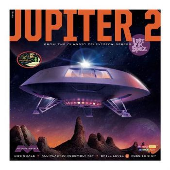 Lost in Space Jupiter 2 Model Kit New Box Art